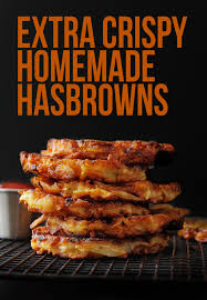 extra crispy restaurant style hashbrown patties layers of happiness