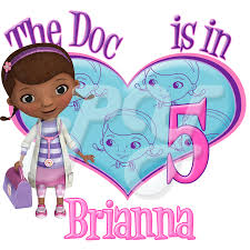 mcstuffins personalized birthday t shirt