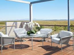 Motion Patio Chairs Brown Jordan Drift Lounge Chair Greystone Patio In Sparrow Outdoor