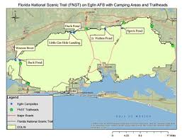 eglin afb map hiking eglin air base isportsman