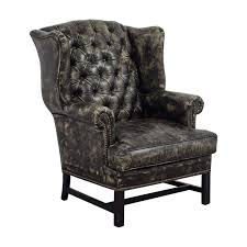 cream leather armchair sale 21 off restoration hardware restoration hardware wingback