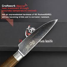 haoye brand 3 5inch paring knife japanese vg10 damascus kitchen