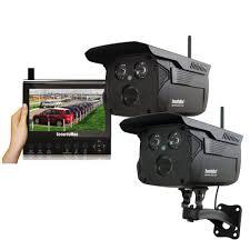 securityman wireless 4 channel surveillance system 2 wireless