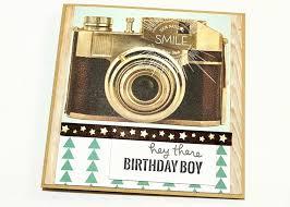 vintage camera u003d male birthday card jennifer grace creates