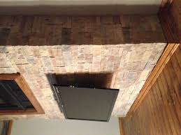Cost Of Stone Fireplace by Durata Dry Stack Stone Fireplace U2013 Hicksville Ohio Jeremykrill Com