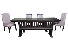 dining room set bench the stone dining room collection mor furniture for less