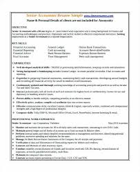 senior accountant cv cost accountant resume accounting resume samples resume for study