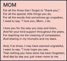 I Love My Mom Meme - i miss you so much momma i think of you everyday thanks for being