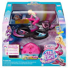 barbie star light adventure barbie star light adventure flying rc hoverboard doll hoverboard