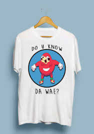 Meme T Shirts - do u know the wae do you know the way funny knuckles meme t