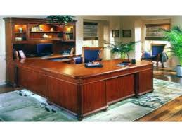 executive desk with hutch executive corner desk with hutch sauder