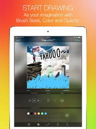 draw on video square pro paint funny colors doodle on videos for