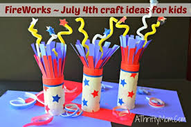 4th Of July Decoration Ideas Fireworks July 4th Crafts For Kids Quick And Easy