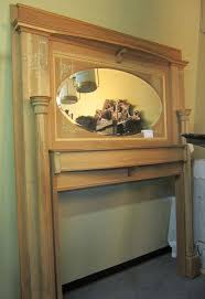 amazing antique fireplace mantel with mirror popular home design