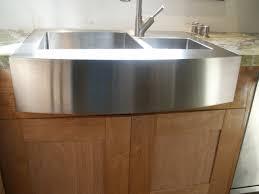 decor 33 inch zuma stainless farmhouse sink for kitchen