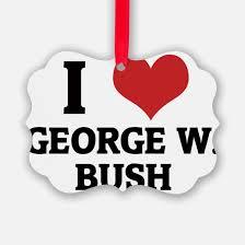 george w bush ornament cafepress
