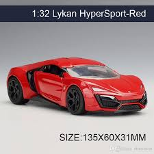collectible model cars 2017 1 32 diecast model car lykan hypersport vehicle play