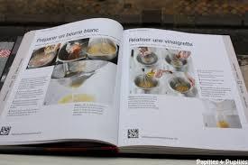 livre cours de cuisine le livre de cuisine de l atelier des chefs