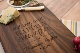 wedding cutting board handmade wooden cutting board personalized wedding gift