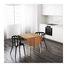 IKEA PS  Dropleaf Table Bamboowhite X Cm IKEA - Ikea drop leaf dining table
