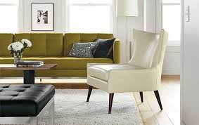 Modern Chair For Living Room Lola Leather Chair Room By R B Modern Living Room