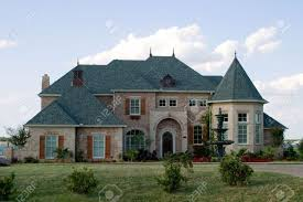 French Style House by Huge Brick Modern French Provencial Style House With Ornate