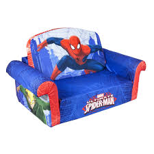 spiderman sofa couch children furniture child kid 2 in 1 flip open