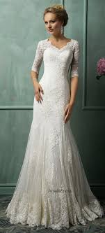 dresses with sleeves for wedding best 25 sleeve wedding dresses ideas on sleeve