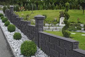 solid concrete block for walls for garden enclosures high