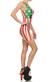 Model American Flag Irish American Flag Bodycon Dress Categories Poprageous