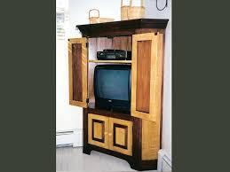 new england corner cupboard tiger maple u0026 walnut handmade in