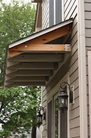 Exterior Door Awnings Front Porch Awning Sooprosports