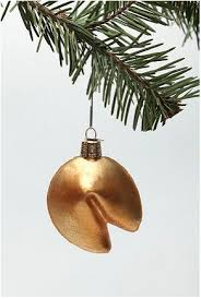 fortune cookie ornament christmas ornaments