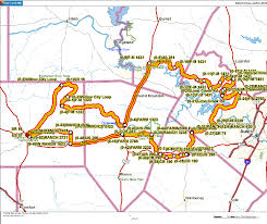 Map Of Texas Hill Country Austin To Fredericsburg