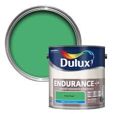 B Q Paint Colour Chart Bedrooms Dulux Endurance Pixie Green Matt Emulsion Paint 2 5l Departments