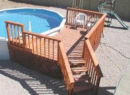 pool decks designs u2014 unique hardscape design wood landscape pool
