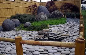 pebble gardens small garden pebbles japanese landscaping idolza