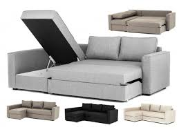 Grey Corner Sofa Bed Boston Corner Sofa Bed With Underneath Storage In Grey Brown Black