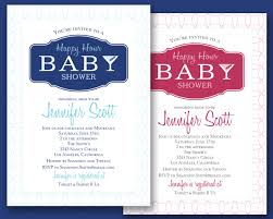 happy hour bridal shower invitations