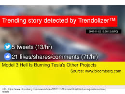 model 3 hell is burning tesla u0027s other projects