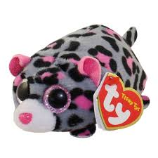 ty beanie boos teeny tys stackable plush miles leopard 4