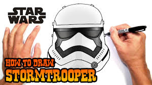 how to draw a stormtrooper star wars youtube