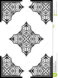 abstract arabesque decor ornaments stock vector image 41835392