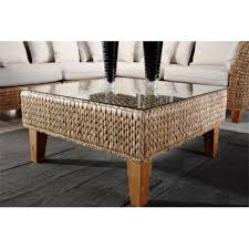 Rattan And Glass Coffee Table by Rustic Seagrass Coffee Table Wicker Living Room Sofa Matching