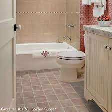 vinyl flooring for bathrooms ideas bathrooms flooring idea gibraltar by mannington