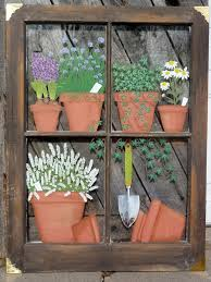 Window Pane Decoration Ideas 25 Unique Old Windows Painted Ideas On Pinterest Painted Window