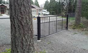 wrought iron fencing by city wide fence in seattle wa