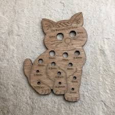 wooden cat wooden cat knitting needle gift ideas the knitting gift shop
