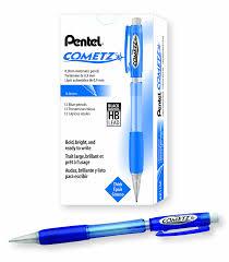 amazon com pentel cometz automatic pencil 0 9mm light green