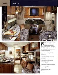 2000 thor four winds chateau and sport brochure rv literature